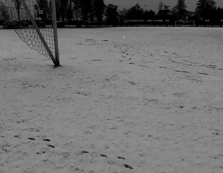 Winterweer zorgt voor afgelastingen zaans voetbal