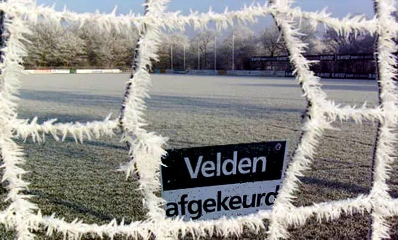 A categorie voetbal op zondag 27 januari gaat door