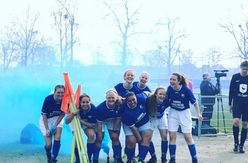 Uitslagen damesvoetbal van dit weekend