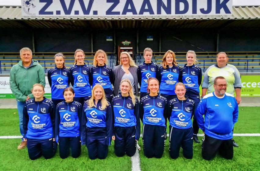 Dames en meiden voetbal bij ZVV Zaandijk