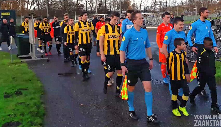 OFC op veld buurman OSV voor KNVB bekerduel tegen Dos Kampen