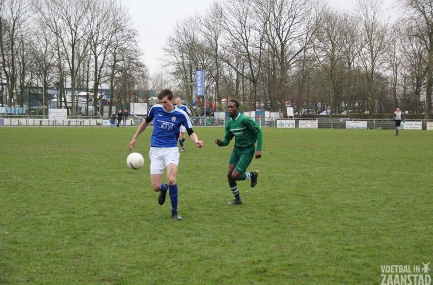 Matig duel van Blauw Wit W tegen PSZ