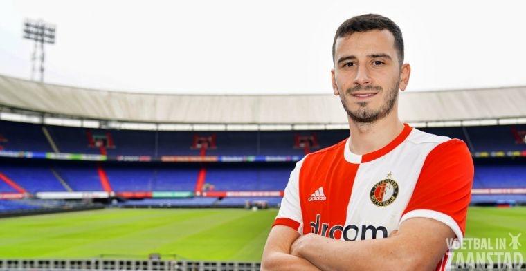 Özyakup scoort al na 93 seconden bij Feyenoord en maakt droomdebuut