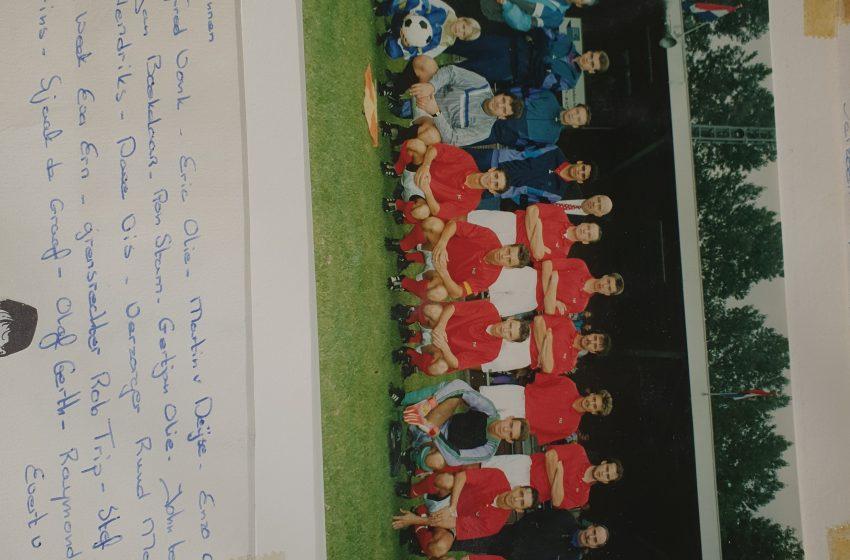 Eerste inzending 'De Zaanse voetbalhistorie' binnen