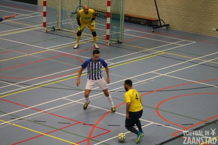 Koepel Zaalvoetbal competitie wordt niet meer hervat