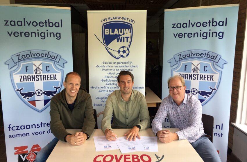 FC Zaanstreek en Blauw Wit blij met COVEBO