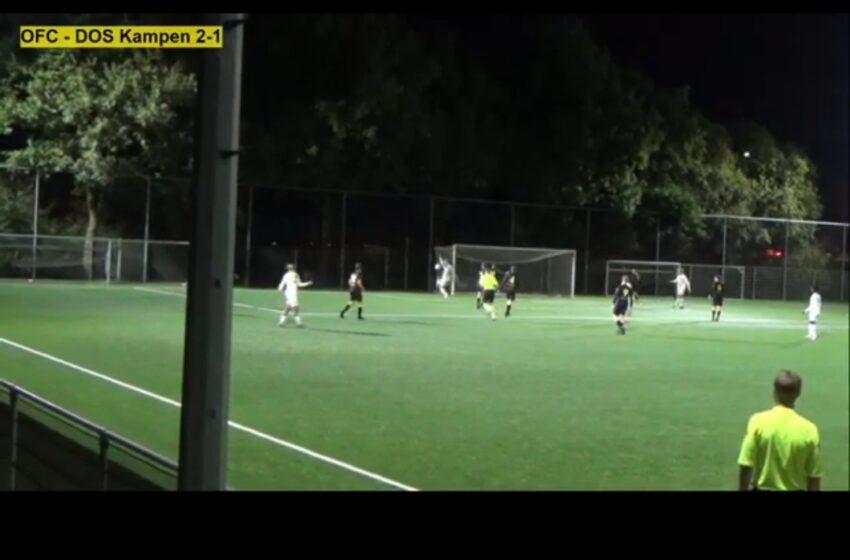 OFC ronde verder in KNVB beker en treft MVV in volgende ronde
