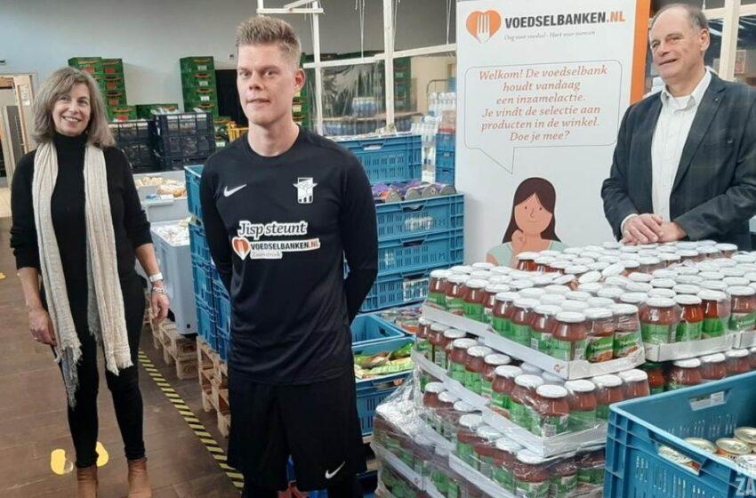 Nieuwe shirtsponsor vv Jisp gaat Voedselbank Zaanstreek steunen