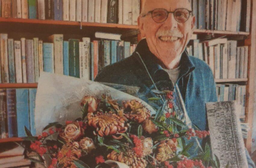 Rob Fieseler (80) in het zonnetje gezet