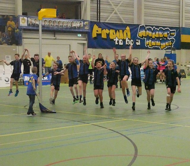 Korfbalclub KZ/Thermo4u volop in de publiciteit