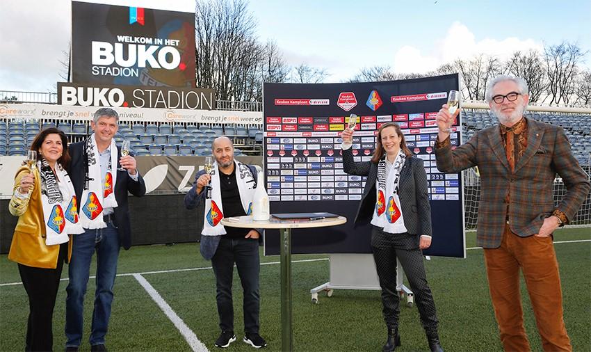 BUKO nieuwe hoofdsponsor Telstar