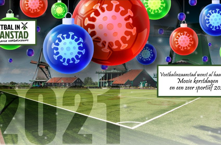 VoetbalinZaanstad wenst jullie fijne feestdagen