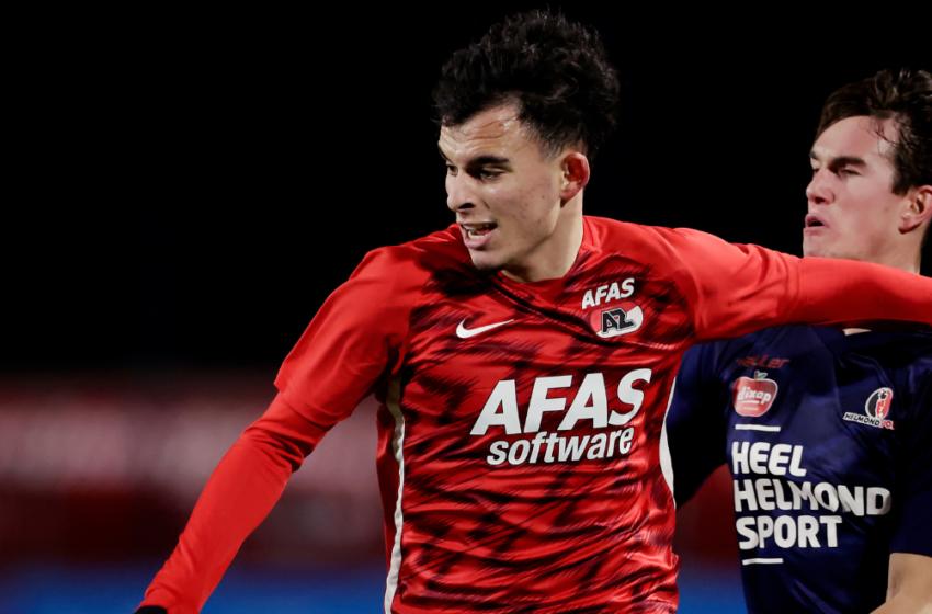 Jong AZ sluit het jaar met remise tegen Helmond Sport