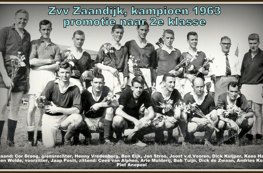 `Zaanse voetbalhistorie` door de ogen van Jan Stroo