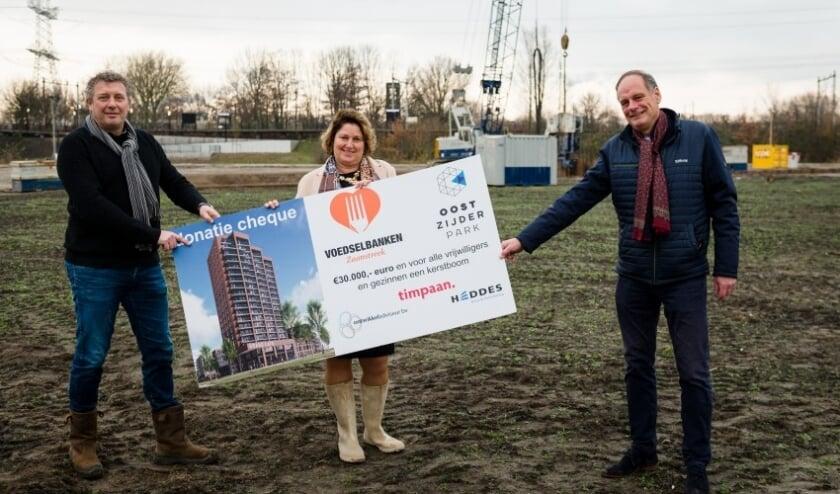 Officieel startschot voor nieuwbouwproject Oostzijderpark