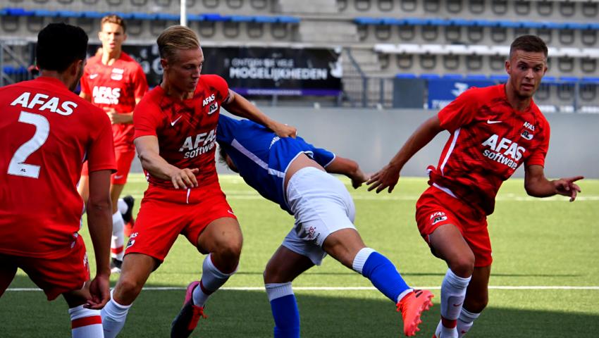 Jong AZ naar De Vliert voor duel met FC Den Bosch