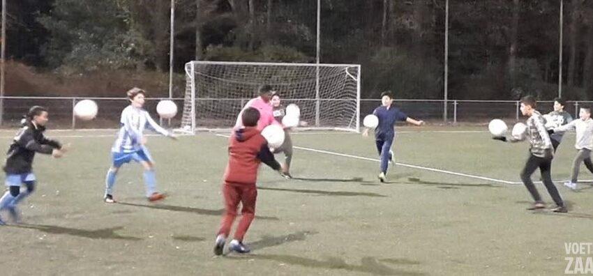 Legaal `vuurwerk` bij FC Zaandam JO-12