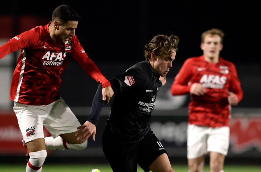 Almere City in Zaandam een maatje te groot voor Jong AZ