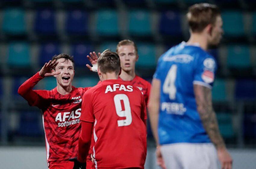 Jong AZ zegeviert en dompelt FC Den Bosch in rouw