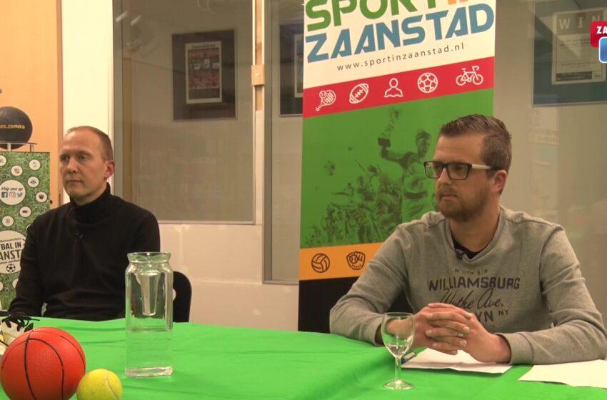 Eerste aflevering Sport in Zaanstad met Levinho Wijdenbosch in de uitzending