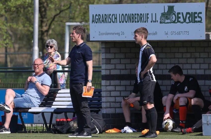 """Alex Geernaert is trots op vv Assendelft: """"Schitterende dorpsclub"""""""