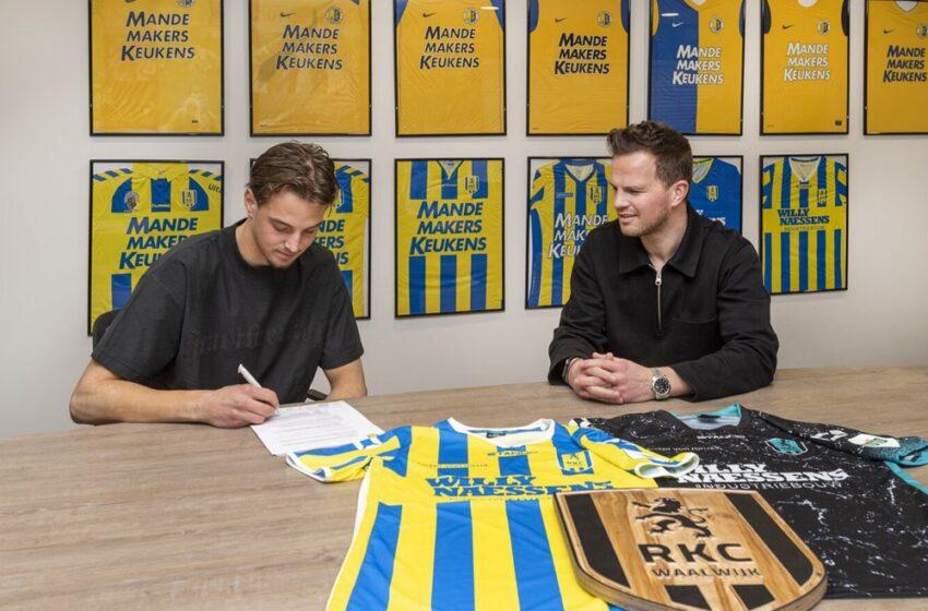 David Min tekent tweejarig contract bij RKC Waalwijk
