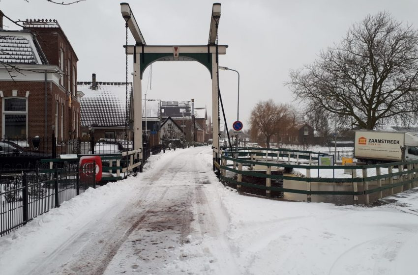 Code oranje: Bij sneeuwval het hoofdveld niet te betreden