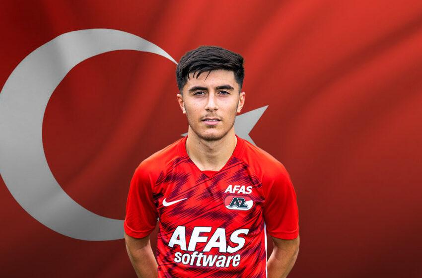 Jong AZ speler Yusuf Barasi opgeroepen voor Jong Turkije