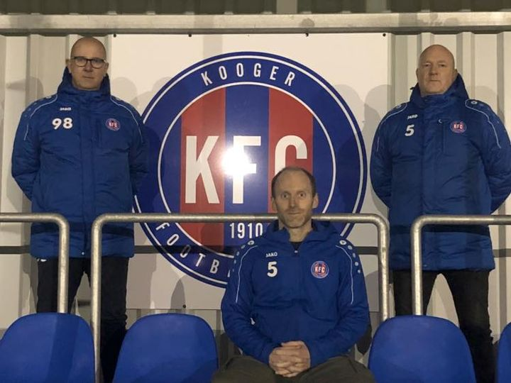 Medische staf Ger Spannenburg, Lennart Kroes en Mennolt Klaassen verlengen bij KFC.