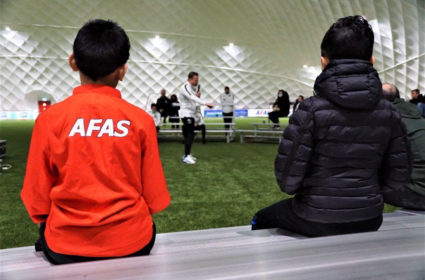 AZ Voetbalschool is terug: 'Heel blij`