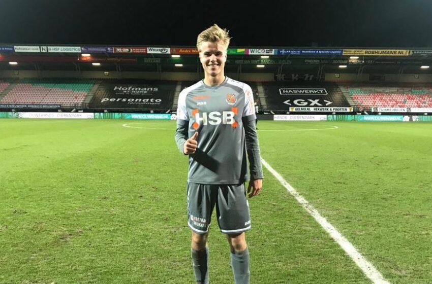 Debuut Jay Kruiver voor FC Volendam in de Goffert