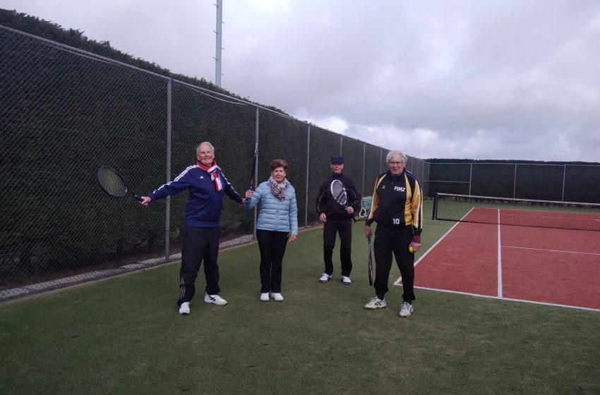 Meer tennissers actief nu dubbelen weer mag