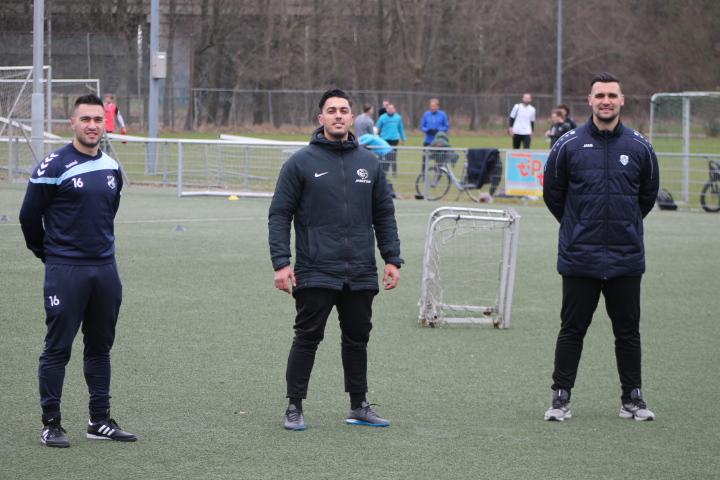 Superkwartet werkt bij Ambition Soccer Training met hardwerkende talenten aan voetbaldroom