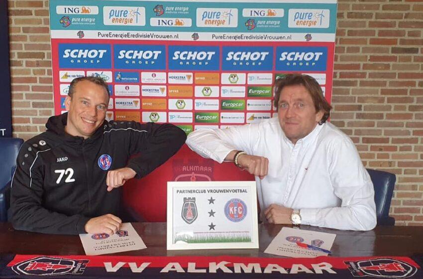 KFC 1910 nieuwe partnerclub vv Alkmaar