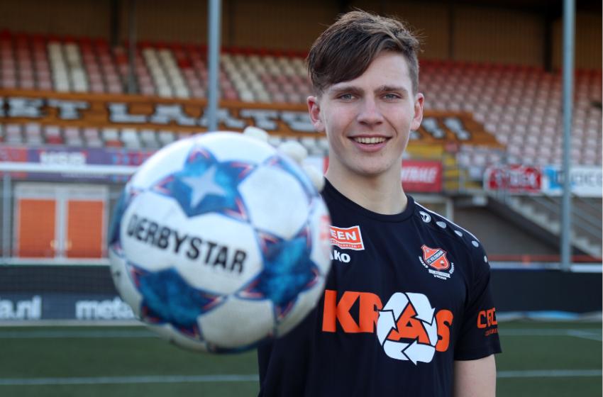 Laatbloeier Kayne van Oevelen versterkt keepersgilde Jong FC Volendam