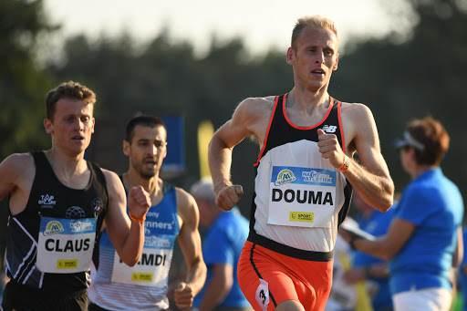 Richard Douma evenaart 10 kilometer record