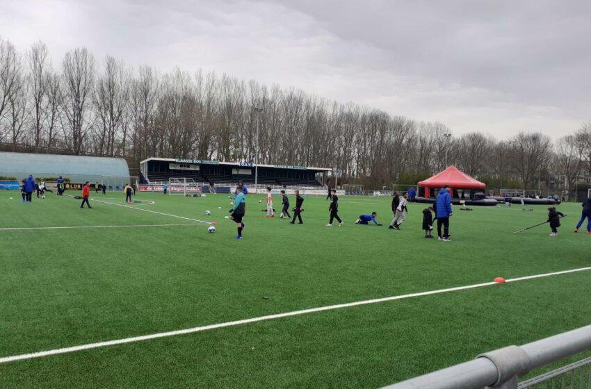 Geslaagde open dag bij voetbalclub OSV
