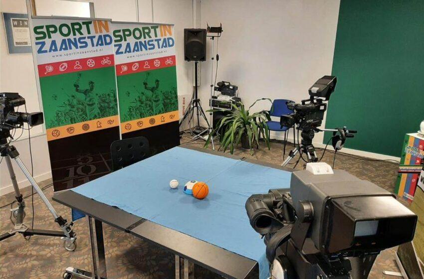 Aflevering 8 Sport in Zaanstad met veel voetbal en gasten Marleen Molenaar en Danny Ris