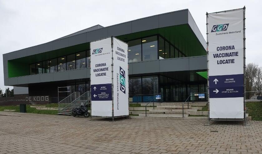 GGD Zaanstreek-Waterland gaat voor 600 prikken per dag in Topsportcentrum De Koog