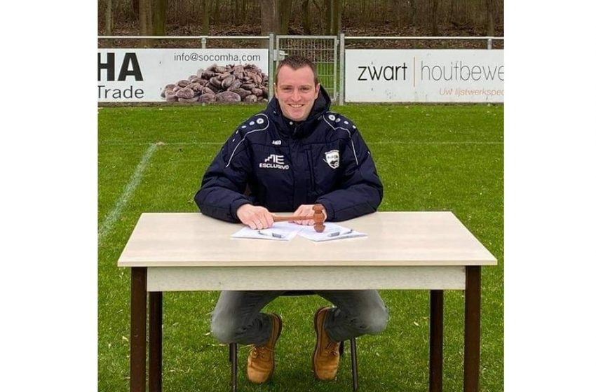 """Blauw-Wit-voorzitter Oscar de Vries: """"Voordeel van kleine club is dat iedereen elkaar kent"""""""