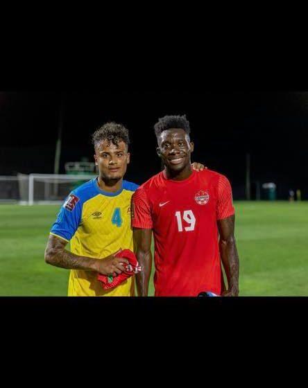 Aruba met Darryl Baly verliest met 0-7 van Canada