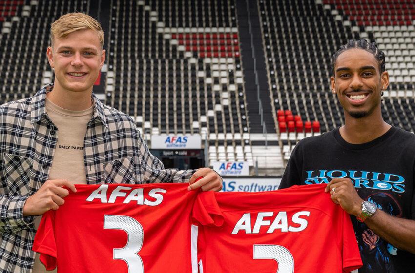Krommenieër Finn Stam tekent contract bij (Jong) AZ