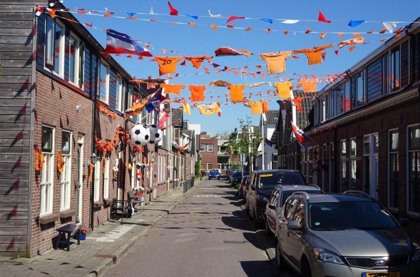 Transvaalstraat in Wormerveer nu oranjestraat