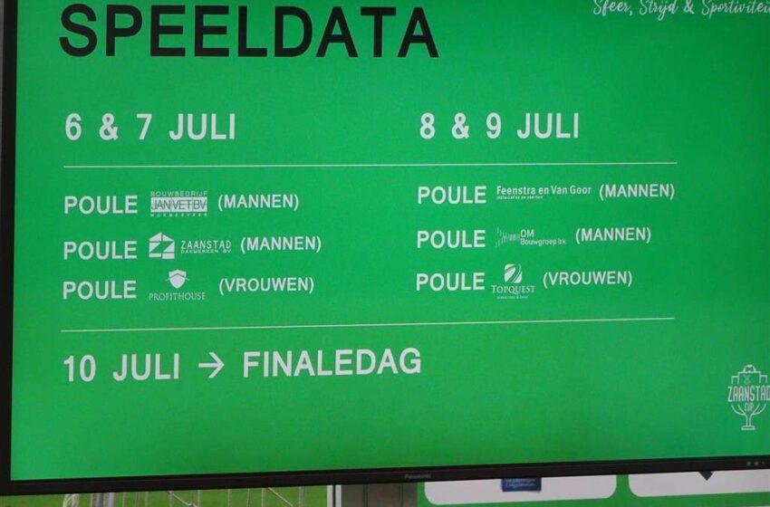 Aftrap Zaanstad Cup nabij: sfeer, strijd en sportiviteit