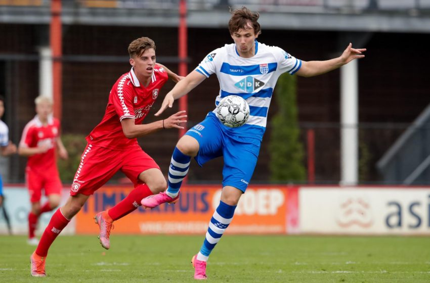 Assendelfter Yaid Marhoum debuteert onder Ron Jans voor FC Twente