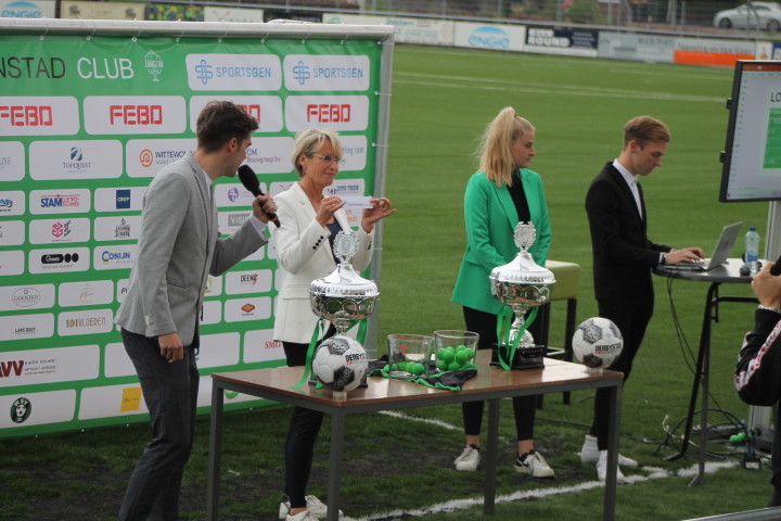 Poule indelingen Zaanstad Cup 2021 onder grote publieke belangstelling bekendgemaakt