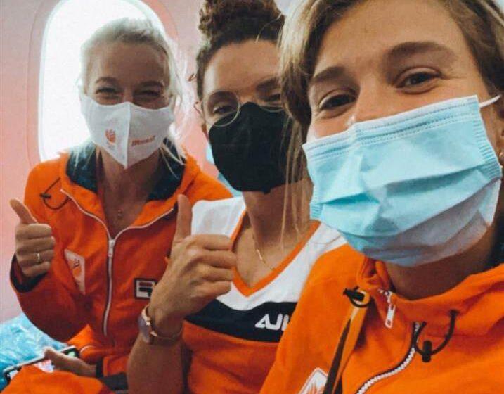 Oranjevoetbalsters met Lize Kop op goudjacht: Goede start met 3-10 overwinning op Zambia