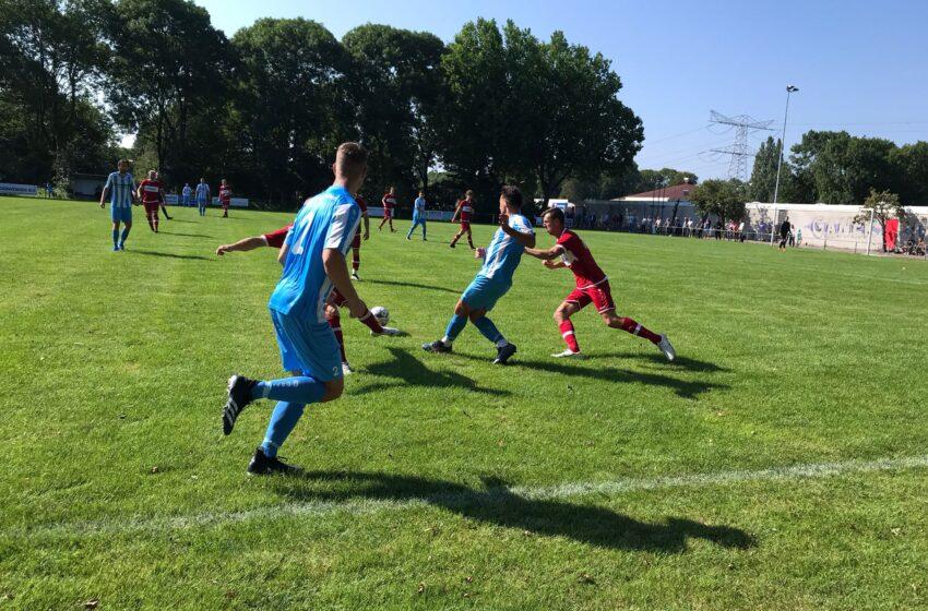FC Zaandam en vv Benschop in evenwicht
