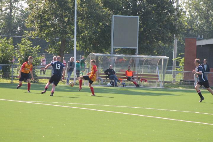 Sporting Krommenie ziet Sint Adelbert er in slotfase toch met winst van door gaan