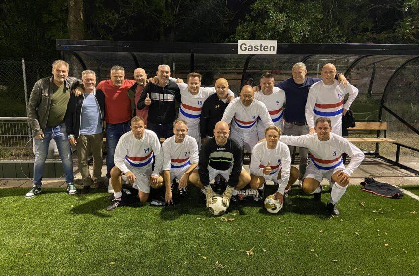 Vrijdag avond competitie 7 tegen 7 voetbal 35+ gestart